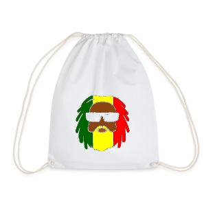 AFROJAZZ RED-GOLD-GREEN - Sac de sport léger
