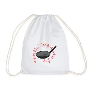 Twistin' Like a Stir Fry - Drawstring Bag