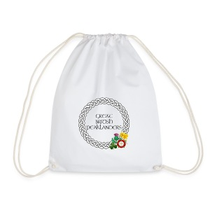 Great British Peaklanders (white) - Drawstring Bag