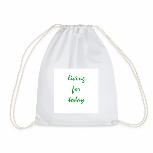 living for today - Turnbeutel