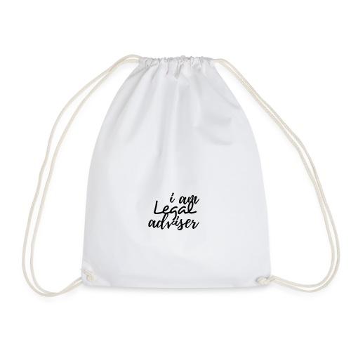 I am Legal Adviser - Drawstring Bag