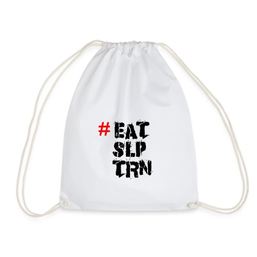 Eat Sleep Train Shirt - Turnbeutel