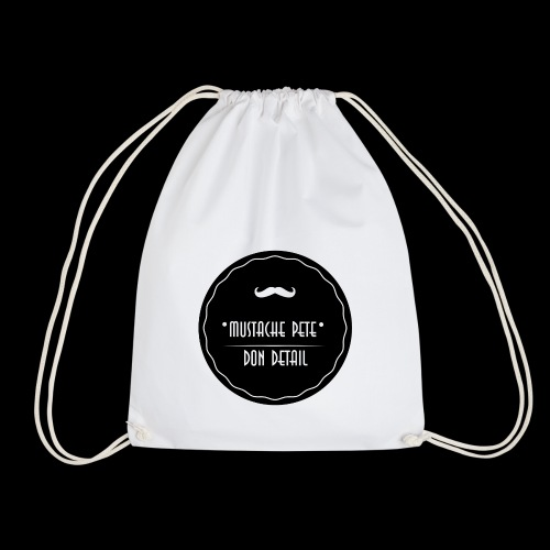 Mustache Pete Logo 1 - Turnbeutel