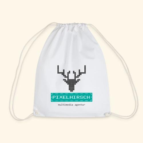 PIXELHIRSCH - Logo - Turnbeutel