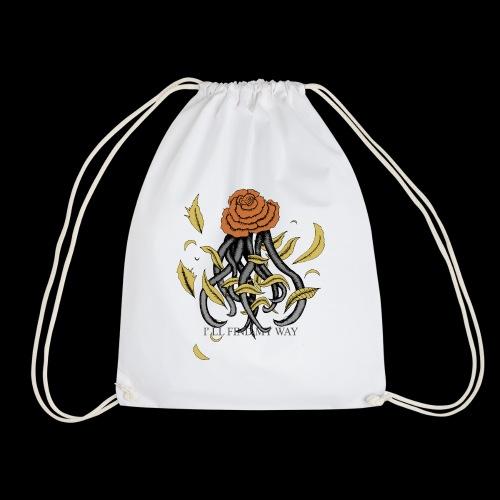 Rose octopus - Sac de sport léger