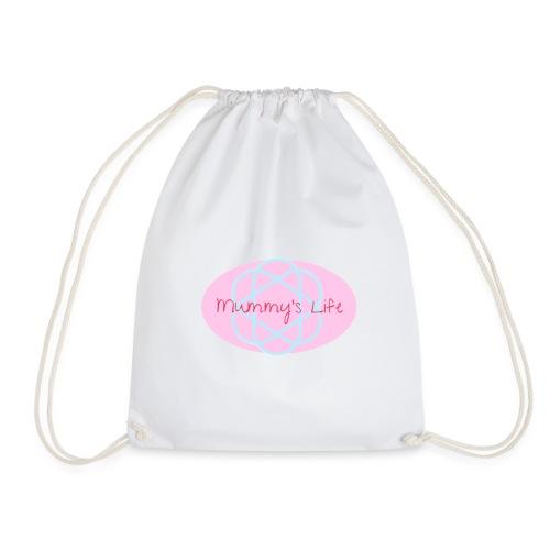 mummy's life - Drawstring Bag