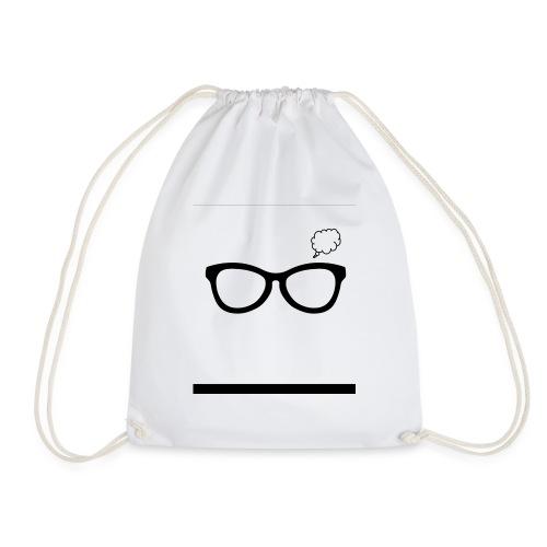 Thoughtful Glasses - Drawstring Bag