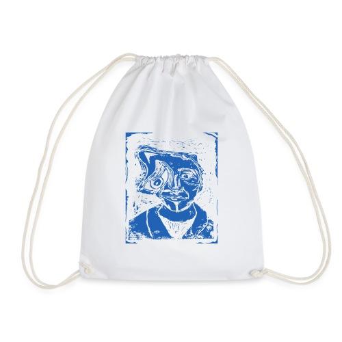 Melting away - Drawstring Bag