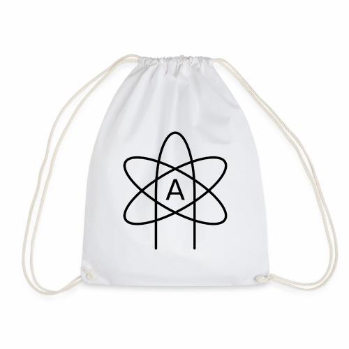 Emblemat ateizmu - Worek gimnastyczny