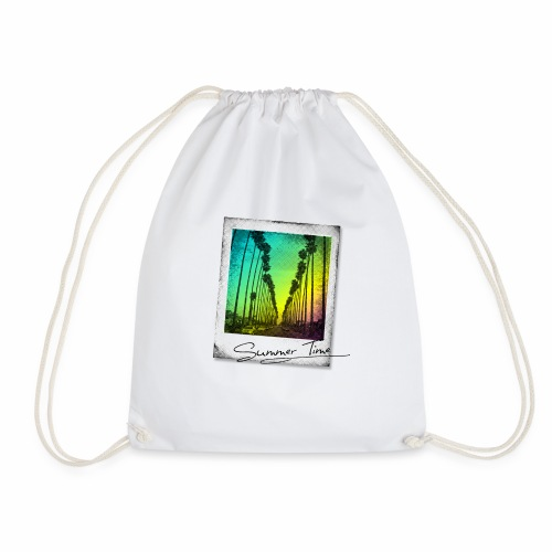 Summer Time - Drawstring Bag