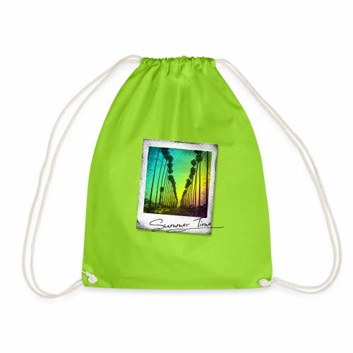Summer Time - Drawstring Bag