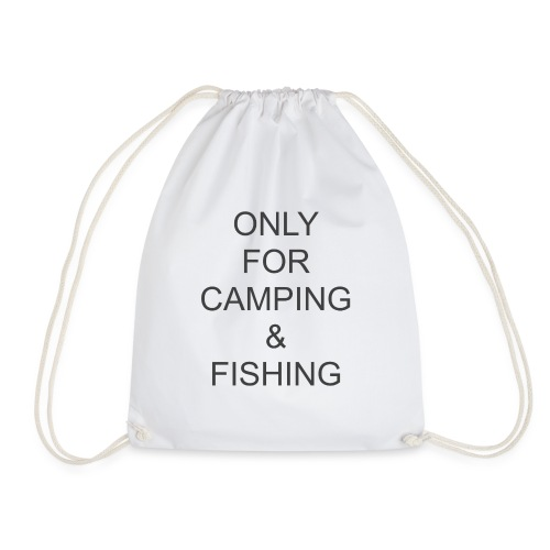 Camping & Fishing - Drawstring Bag
