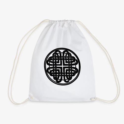 nudo celta negro - Mochila saco
