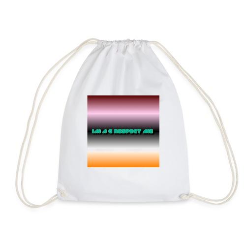 IM A G RESPECT ME MERCH - Drawstring Bag
