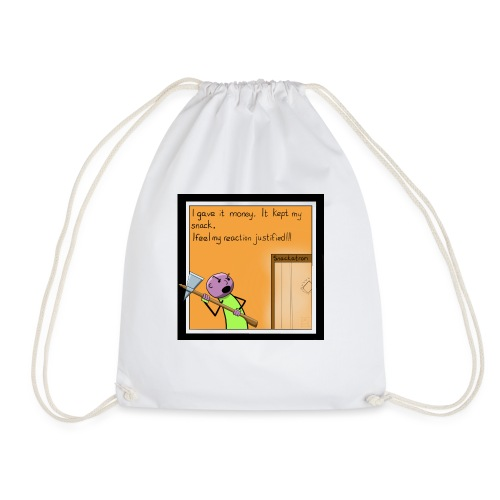 Snack Attack - Drawstring Bag