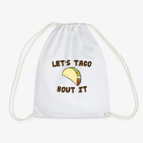 taco bolt it - Drawstring Bag