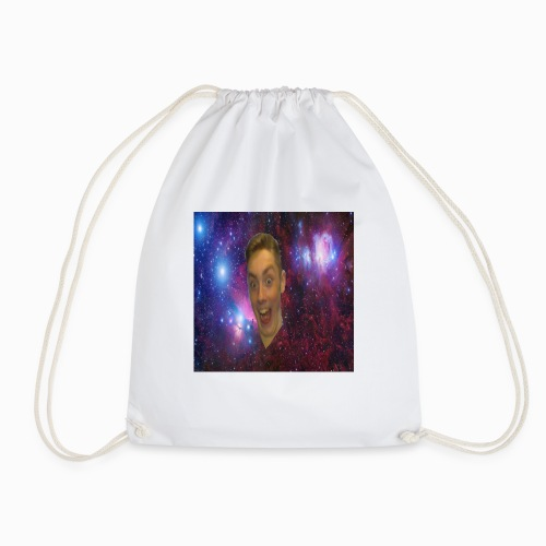 The face of a madman design - Drawstring Bag