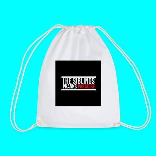 TheSiblingsPranksParadise - Drawstring Bag