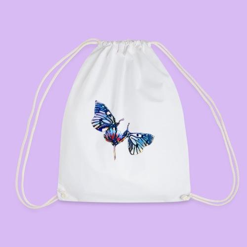 Coppia di farfalle - Sacca sportiva