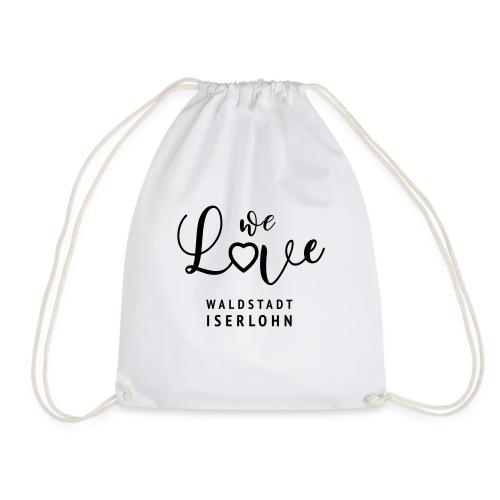 Waldstadt Love Logo - Turnbeutel