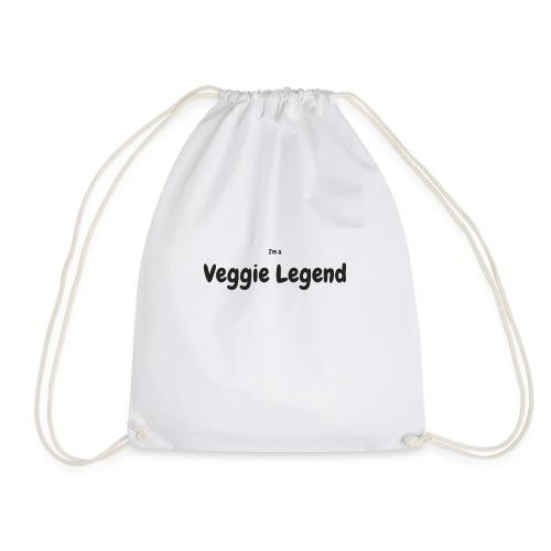 I'm a Veggie Legend - Drawstring Bag