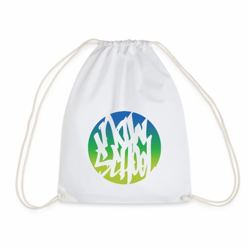 Now-School Logo (Colors) - Drawstring Bag