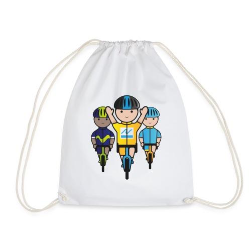 Mini-Racers-Finish - Drawstring Bag