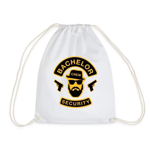 Bachelor Security - JGA T-Shirt - Bräutigam Shirt - Turnbeutel