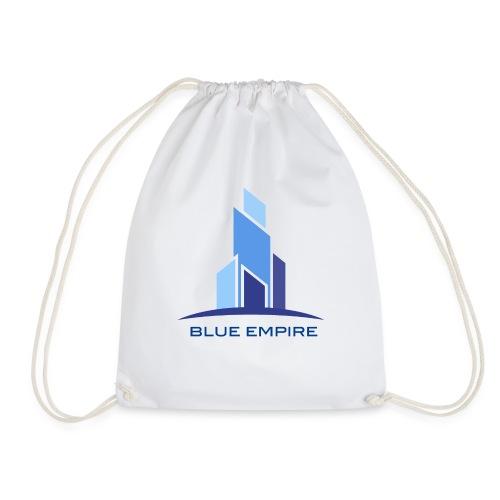 Logo Azul - Mochila saco