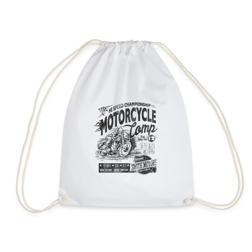 MOTORCYCLE COMP - Drawstring Bag