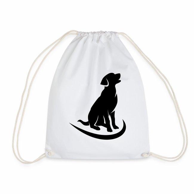 siluetta perro logo colores