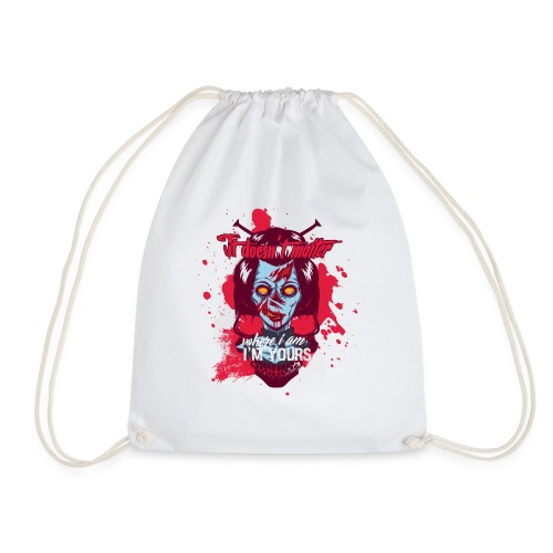 I m yours - Drawstring Bag