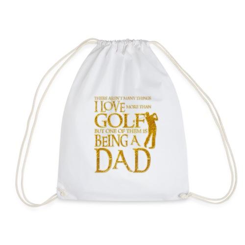 I Love Golf - Golfer Men Gift for Dad - Mochila saco