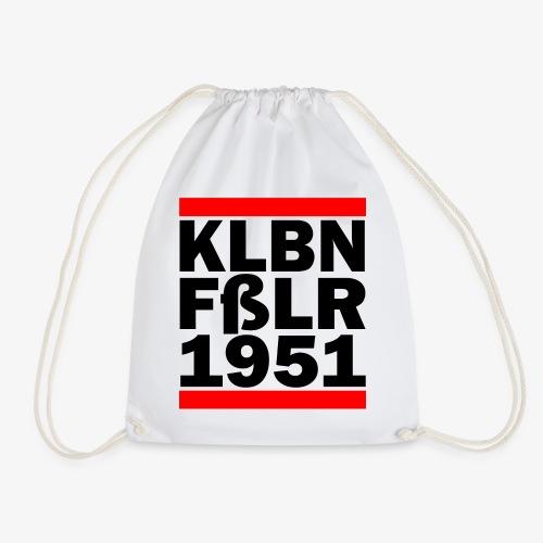 GUEST KLBNFßLER 1951 black - Turnbeutel