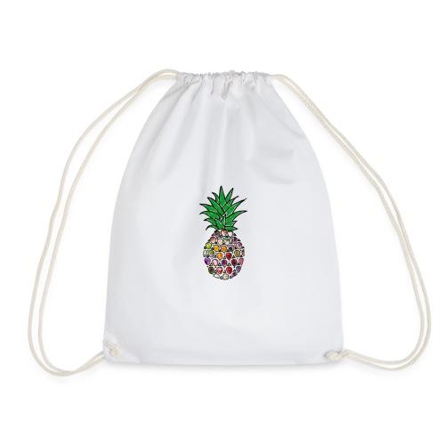 Moderne Ananas - Turnbeutel
