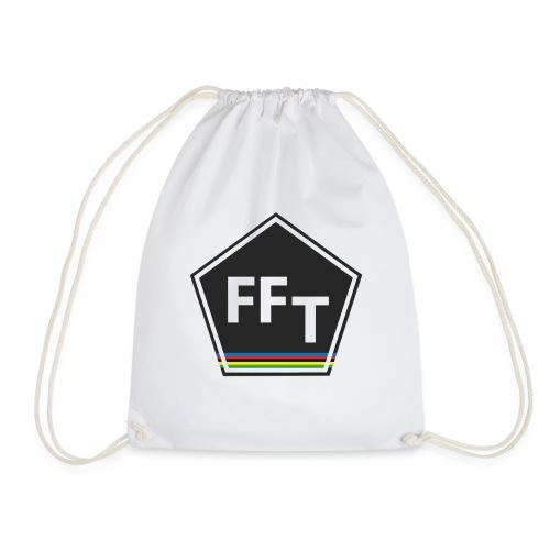 FFT logo colour (Fastfitnesstips) - Drawstring Bag