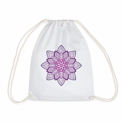 Blume 2 | Meditation Mandala Spirituell henna yoga - Turnbeutel