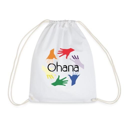 Ohana heißt Familie - Turnbeutel