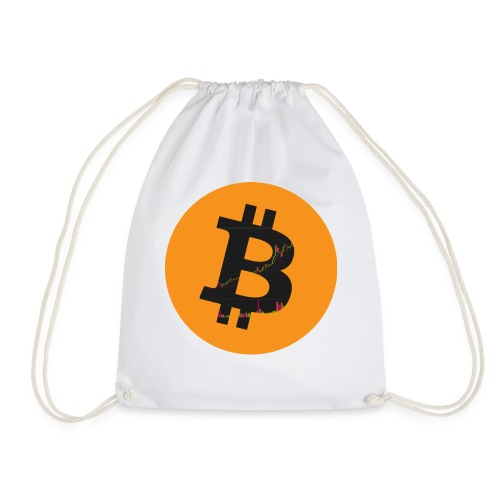 Bitcoin Logo - Turnbeutel