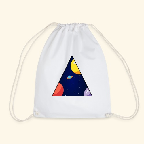 View From Space - Drawstring Bag