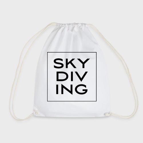SKY DIV ING Black - Turnbeutel