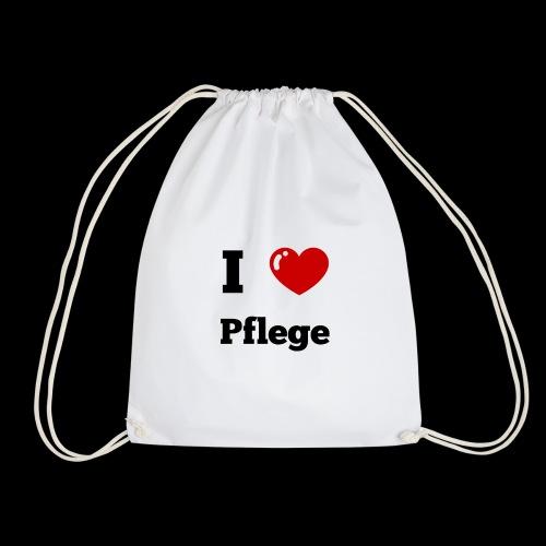 I LOVE PFLEGE - Turnbeutel