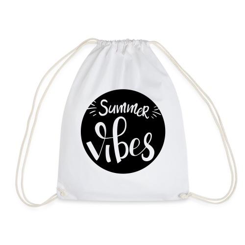 Summer vibes - Drawstring Bag