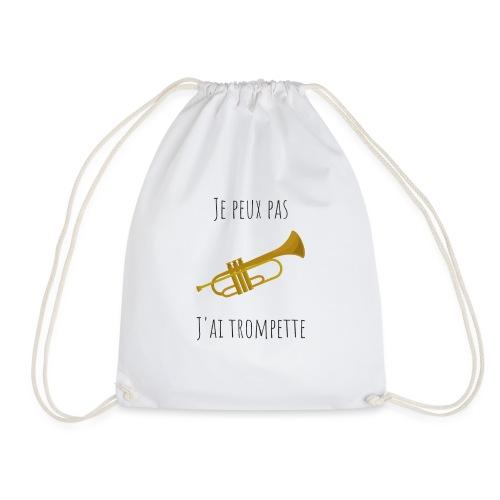t-shirt trompette je peux pas j'ai trompette - Sac de sport léger