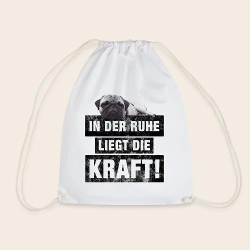Mops Ruhe - Turnbeutel