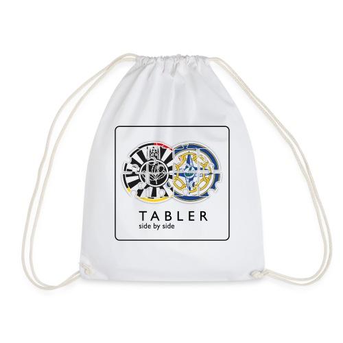 TABLER side by side - logo hell - Turnbeutel