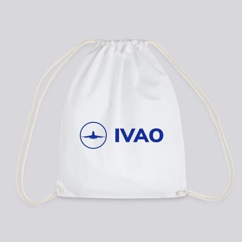 IVAO (Blue Full Logo) - Drawstring Bag