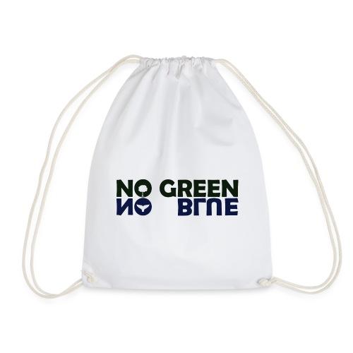 NO GREEN NO BLUE - Mochila saco