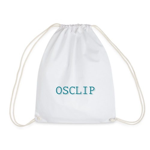 OSCLIP simple text - Gymnastikpåse