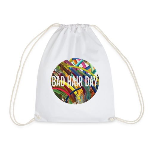 Bad Hair Day - Drawstring Bag